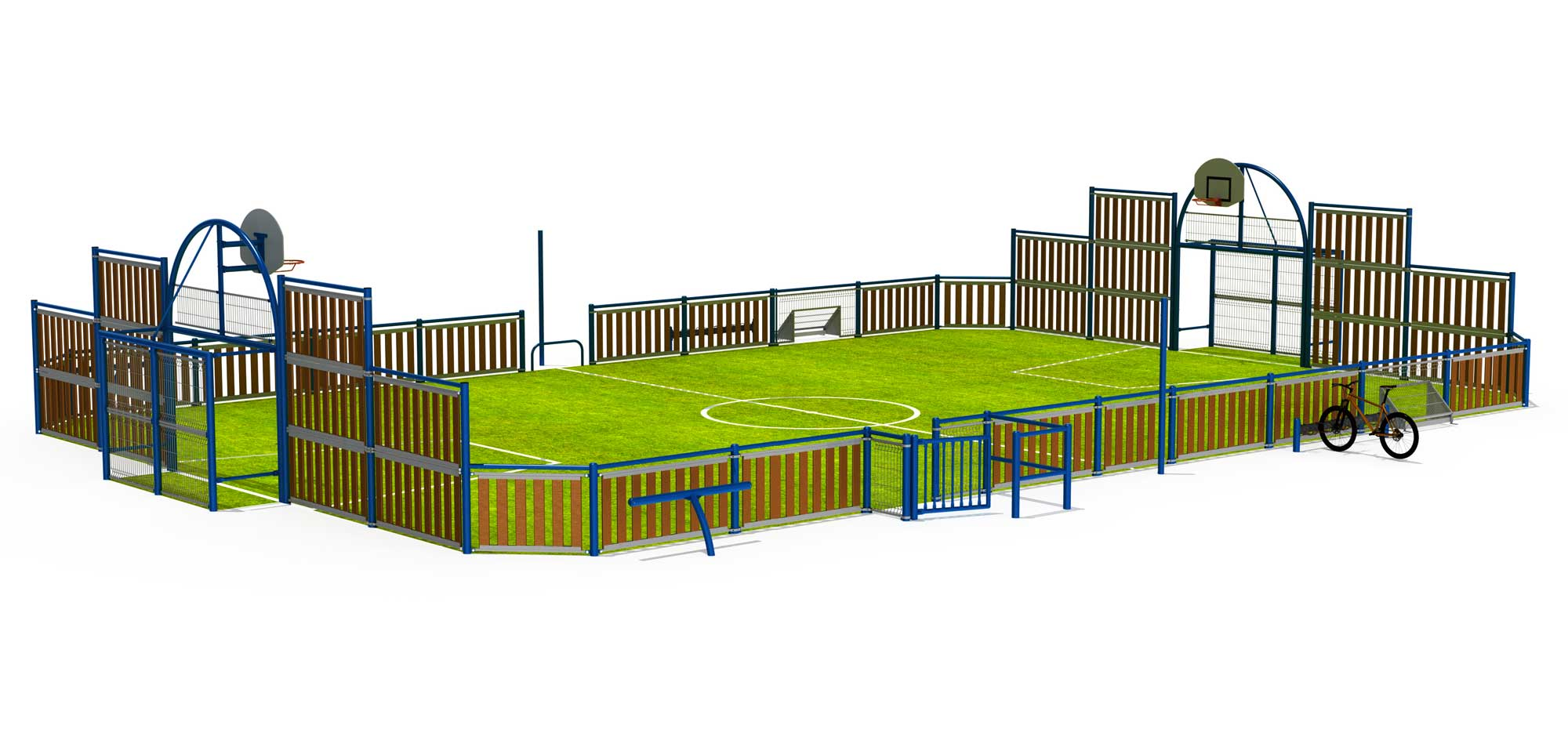 terrains multisports. Black Bedroom Furniture Sets. Home Design Ideas