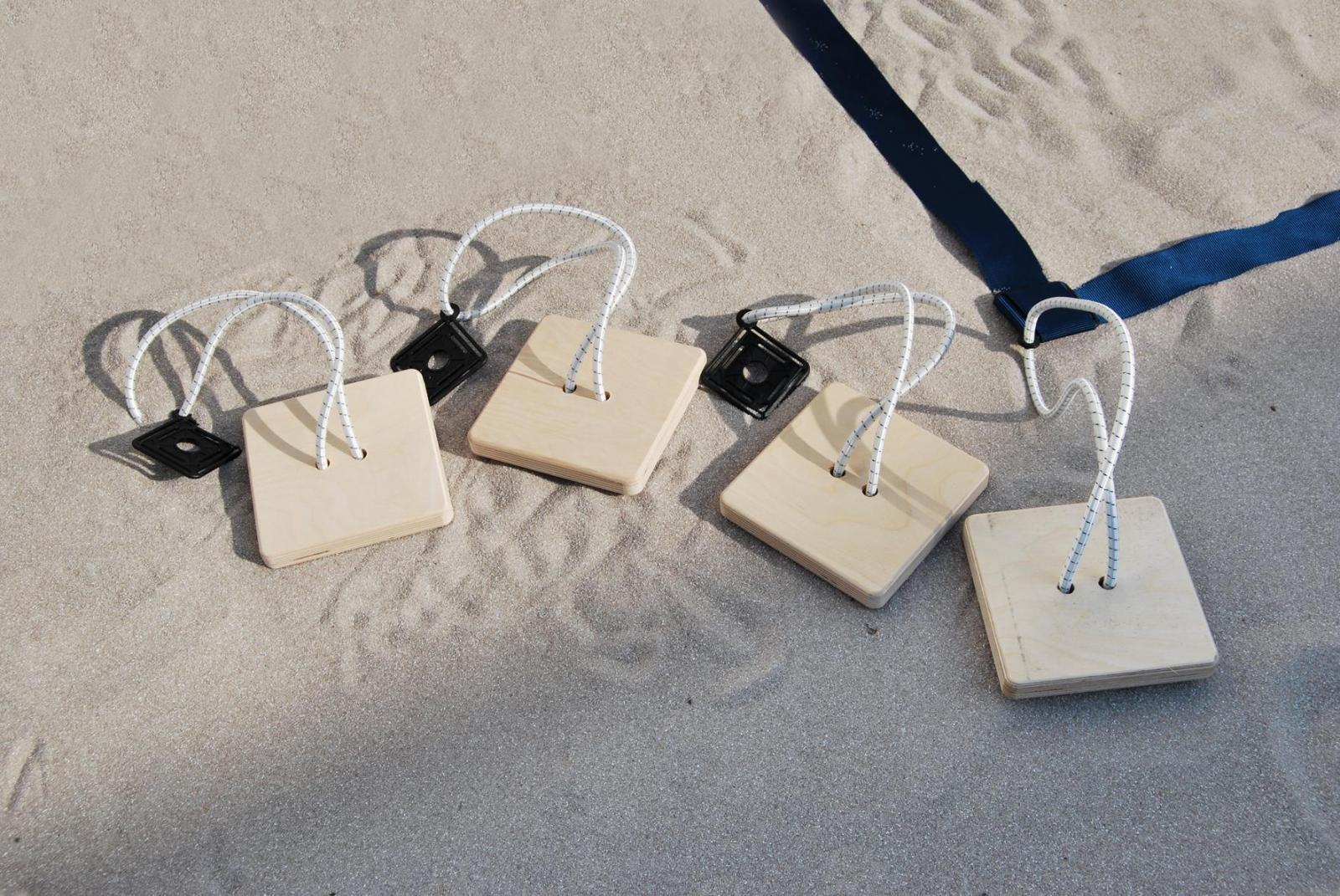 ligne de delimitation pro beach beach volley protec sport quipements sports et loisirs. Black Bedroom Furniture Sets. Home Design Ideas