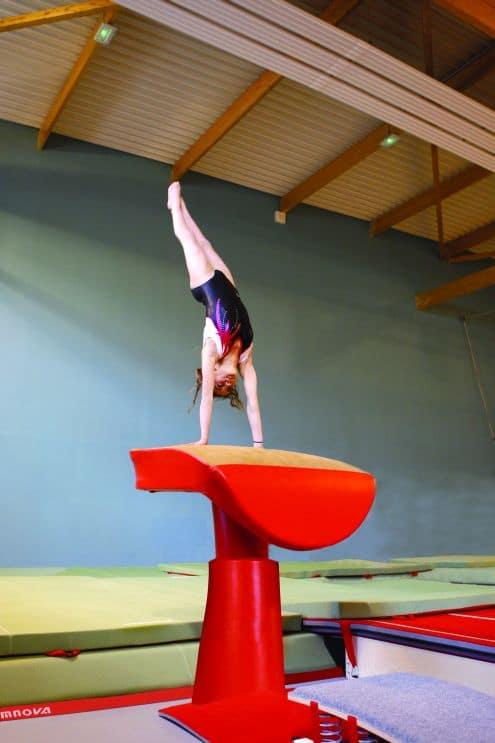 Gymnastique artistique f minine nos mains qui crivent - Table de saut gymnova ...