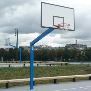But de basket hauteur fixe