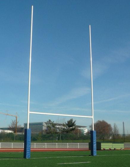 But de rugby en aluminium for Interieur sport rugby