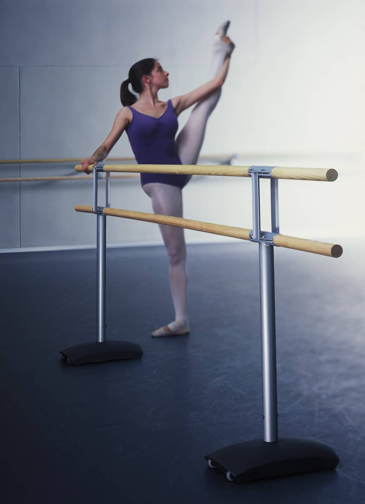 Double barre de danse mobile premium for Barre de danse mobile pas cher