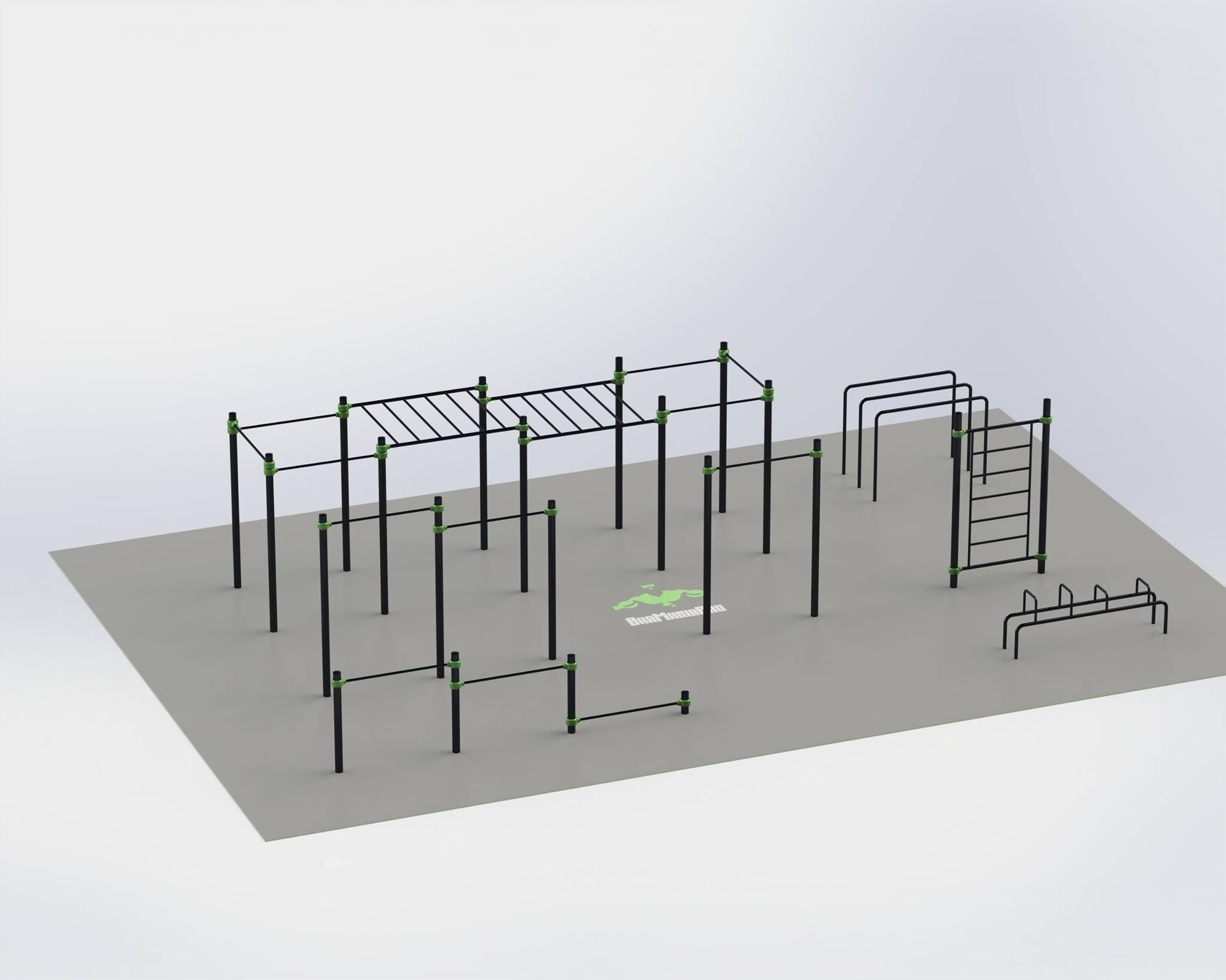 inauguration du parc de street workout barmaniapro. Black Bedroom Furniture Sets. Home Design Ideas