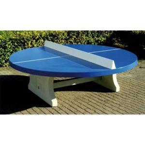 ping pong-ronde bleu