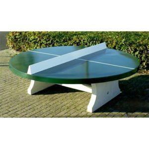 ping pong-ronde verte