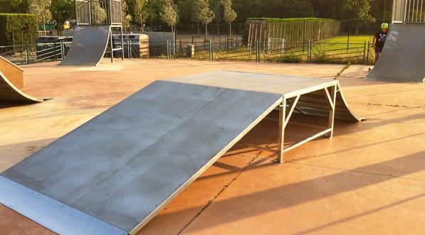 réhabilitation, skatepark, construction, module, france