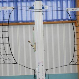 Poteau rond , volley, acier