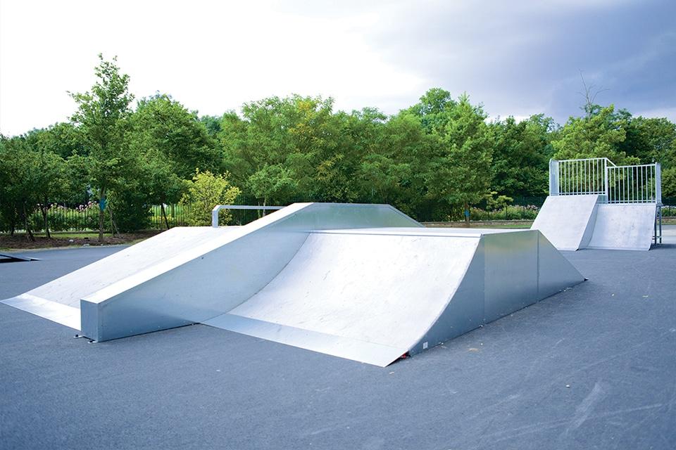Yerres - skatepark