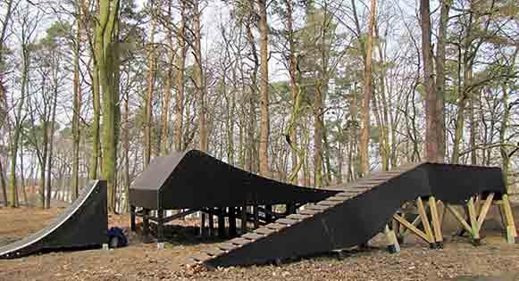 pumptrack module bois