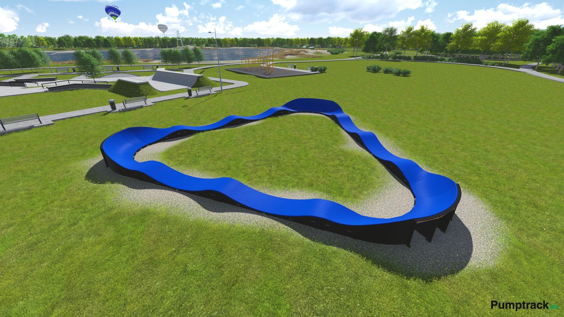 pumptrack skatepark